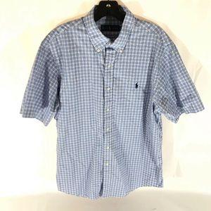 Ralph Lauren mens large button down shirt